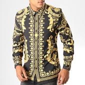 /achat-chemises-manches-longues/uniplay-chemise-manches-longues-c012-noir-blanc-bandana-195132.html