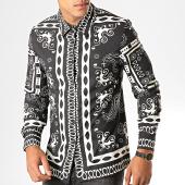 /achat-chemises-manches-longues/uniplay-chemise-manches-longues-c011-noir-renaissance-floral-195138.html