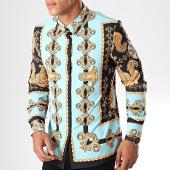 /achat-chemises-manches-longues/uniplay-chemise-manches-longues-c016-bleu-clair-noir-renaissance-195173.html
