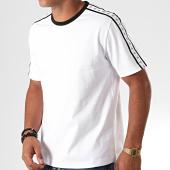 /achat-t-shirts/calvin-klein-tee-shirt-a-bandes-monogram-3252-blanc-noir-195406.html