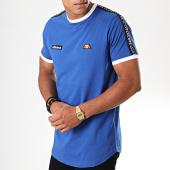 /achat-t-shirts-longs-oversize/ellesse-tee-shirt-oversize-a-bandes-fede-sha05907-bleu-roi-195451.html