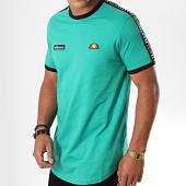 /achat-t-shirts-longs-oversize/ellesse-tee-shirt-oversize-a-bandes-fede-sha05907-vert-195452.html