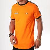 /achat-t-shirts-longs-oversize/ellesse-tee-shirt-oversize-a-bandes-fede-sha05907-orange-195453.html