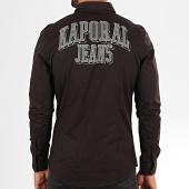 /achat-chemises-manches-longues/kaporal-chemise-manches-longues-odam-noir-195413.html
