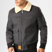 /achat-bombers/bombers-original-bomber-col-mouton-aviator-gris-anthracite-195494.html