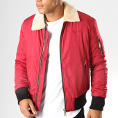 /achat-bombers/bombers-original-bomber-col-mouton-versmold-rouge-195502.html