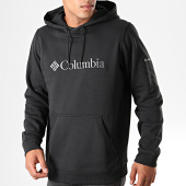 /achat-sweats-capuche/columbia-sweat-capuche-csc-basic-logo-noir-195650.html