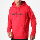 /achat-sweats-capuche/columbia-sweat-capuche-csc-basic-logo-rouge-195652.html