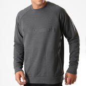 /achat-sweats-col-rond-crewneck/columbia-sweat-crewneck-lodge-gris-anthracite-chine-195667.html