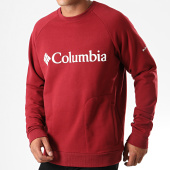 /achat-sweats-col-rond-crewneck/columbia-sweat-crewneck-lodge-bordeaux-195668.html