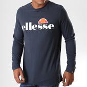 /achat-t-shirts-manches-longues/ellesse-tee-shirt-manches-longues-grazie-shc07406-bleu-marine-195522.html
