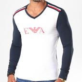 /achat-t-shirts-manches-longues/emporio-armani-tee-shirt-manches-longues-col-v-111855-9a529-blanc-bleu-marine-195621.html