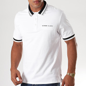 /achat-polos-manches-courtes/guess-polo-manches-courtes-m94p37-k7o60-blanc-195619.html