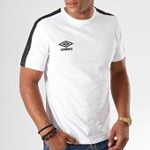 /achat-t-shirts/umbro-tee-shirt-a-bandes-729510-blanc-195555.html