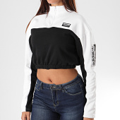 /achat-sweats-col-zippe/adidas-sweat-crop-femme-col-zippe-ed7439-blanc-noir-195805.html