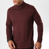 /achat-t-shirts-manches-longues/brave-soul-tee-shirt-manches-longues-36giraffed-bordeaux-195736.html
