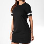 /achat-robes/calvin-klein-jeans-robe-tee-shirt-femme-monogram-tape-2597-noir-195782.html