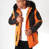 /achat-parkas/project-x-parka-fourrure-1950002-orange-noir-195742.html