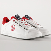 /achat-baskets-basses/sergio-tacchini-baskets-gran-torino-ltx-stm924104-white-dark-red-195735.html