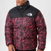 /achat-doudounes/the-north-face-doudoune-1996-retro-nuptse-3c8d-rose-fushia-noir-195816.html