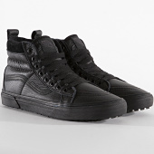 /achat-baskets-montantes/vans-baskets-sk8-hi-mte-4bv7xkn-leather-black-195823.html