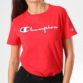 /achat-t-shirts/champion-tee-shirt-femme-110992-rouge-195849.html