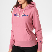 /achat-sweats-capuche/champion-sweat-capuche-femme-111555-rose-195852.html