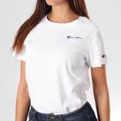 /achat-t-shirts/champion-tee-shirt-slim-femme-112195-blanc-195856.html
