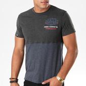 /achat-t-shirts/la-maison-blaggio-tee-shirt-merinton-gris-anthracite-chine-bleu-marine-chine-195868.html