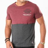 /achat-t-shirts/la-maison-blaggio-tee-shirt-merinton-bordeaux-chine-gris-anthracite-chine-195870.html