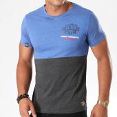/achat-t-shirts/la-maison-blaggio-tee-shirt-merinton-bleu-clair-chine-gris-anthracite-chine-195871.html