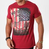 /achat-t-shirts/la-maison-blaggio-tee-shirt-melton-bordeaux-195874.html