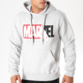 /achat-sweats-capuche/marvel-sweat-capuche-logo-mania-marvel-gris-chine-195900.html