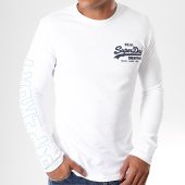 /achat-t-shirts-manches-longues/superdry-tee-shirt-manches-longues-vintage-logo-linear-blanc-195915.html