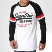 /achat-t-shirts-manches-longues/superdry-tee-shirt-manches-longues-tri-colour-raglan-blanc-noir-195923.html