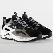 /achat-baskets-basses/fila-baskets-ray-tracer-1010685-black-white-196068.html