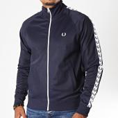 /achat-vestes/fred-perry-veste-zippee-a-bandes-j6231-bleu-marine-blanc-195989.html