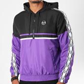 /achat-vestes/sergio-tacchini-veste-col-zippe-capuche-a-bandes-dangel-38700-violet-noir-blanc-196020.html