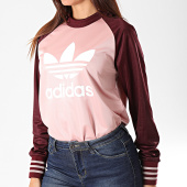 /achat-t-shirts-manches-longues/adidas-tee-shirt-manches-longues-femme-ed4792-rose-bordeaux-196127.html