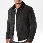 /achat-vestes-jean/blend-veste-en-jean-col-mouton-20708668-noir-196250.html