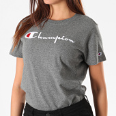 /achat-t-shirts/champion-tee-shirt-femme-110992-gris-anthracite-chine-196261.html