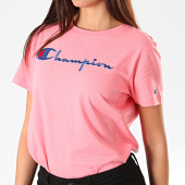 /achat-t-shirts/champion-tee-shirt-femme-110992-rose-196263.html