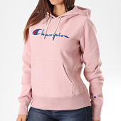 /achat-sweats-capuche/champion-sweat-capuche-femme-111555-rose-196265.html