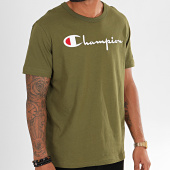 /achat-t-shirts/champion-tee-shirt-big-script-210972-vert-kaki-196280.html
