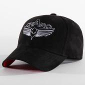 /achat-casquettes-de-baseball/charo-casquette-suede-noir-196205.html