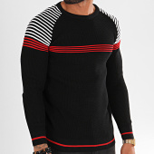 /achat-pulls/classic-series-pull-kt-20004-noir-rouge-196182.html
