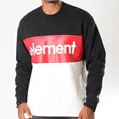 /achat-sweats-col-rond-crewneck/element-sweat-crewneck-primo-division-noir-rouge-blanc-casse-196281.html