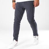 /achat-pantalons-carreaux/aarhon-pantalon-a-rayures-19006-bleu-marine-196405.html