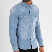 /achat-chemises-manches-longues/black-needle-chemise-jean-manches-longues-6573-bleu-denim-196370.html