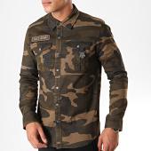 /achat-chemises-manches-longues/black-needle-chemise-manches-longues-6759-vert-kaki-camouflage-196380.html
